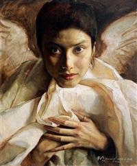the angel by liu ya ming