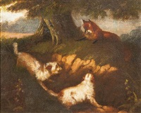 the fox and the hounds by george armfield