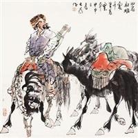 狩猎图 by liu dawei