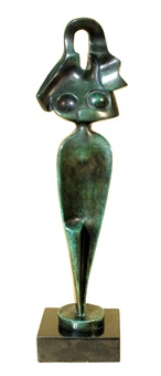 egyptian motif by alexander archipenko