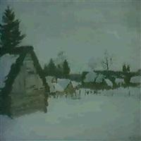 janvier enneige by nicolai yablokov