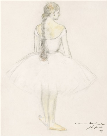 danseuse by jean louis forain