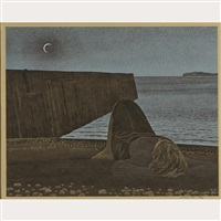 new moon by david alexander colville