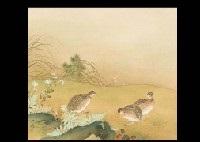 autumn quails by ogata gekko