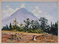 vista del popocatépetl by mario almela