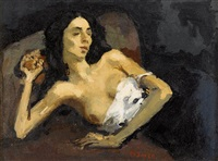odalisque by moses soyer