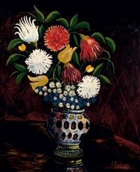 bouquet de fleurs by andré fontenay de saint-afrique