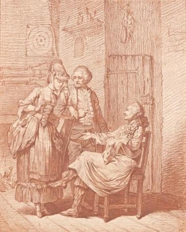 la demande en mariage by pierre alexandre wille