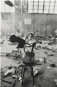 jean tinguely by dennis hopper