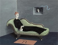countess narone on chaise by gertrude abercrombie