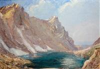 lac de la folle, grande valloire by etienne albrieux