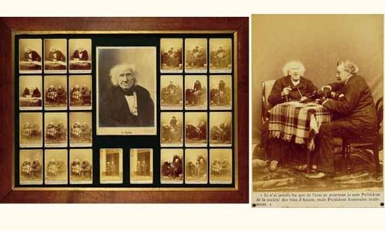 lentretien de m nadar avec m chevreul le jour de son centenaire 31 août 1886 26 works 1 gelatin silver print by paul nadar