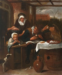 das eieressen by jan steen