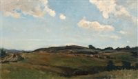 summer clouds by berndt adolf lindholm