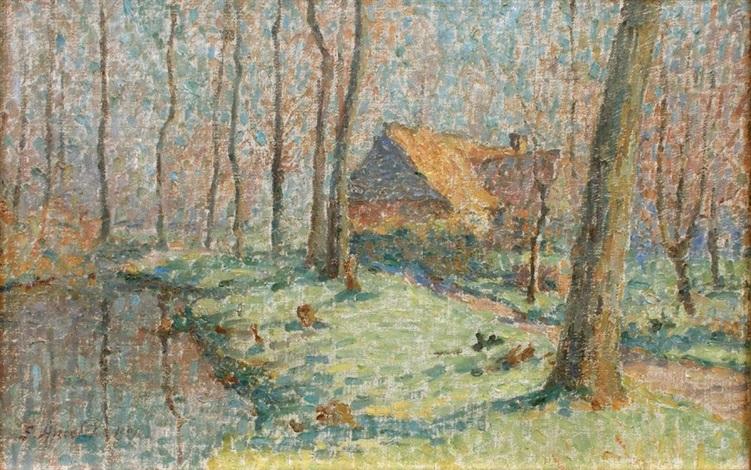 maison en sous bois by emile ancelet