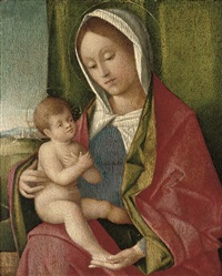 the madonna and child by vincenzo catena