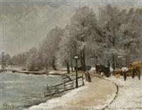 coin du bois de la cambre (lac) by guillaume vogels