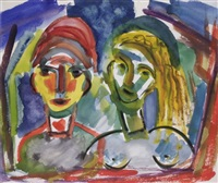 portrait de couple by henry miller