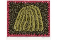 pumpkin (i) from amour pour toujours by yayoi kusama