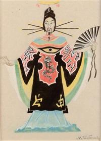 projet de costume chinois by mikhail bobichov
