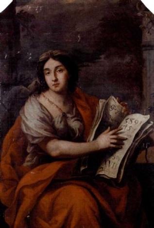 a sybil by nicolaas marten fierlants