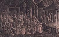 balinese perfomance by ida bagus made nadera