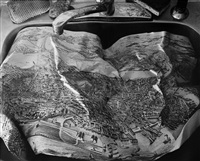 map in the sink by abelardo morell