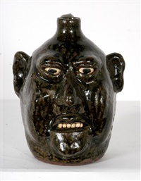 small face jug by lanier meaders