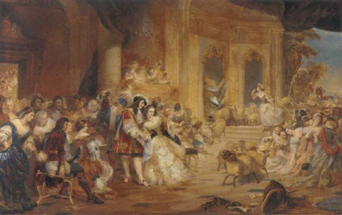 an incident at the opera by edward matthew ward