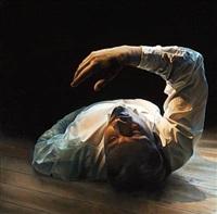 på et gulv iii by thomas kluge