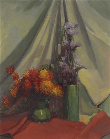 fleurs etude by leon dabo