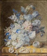 bouquet de fleurs au nid by julie weber
