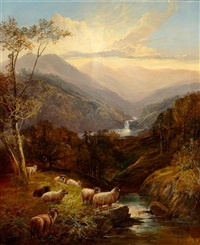at the head of the valley by joseph adam