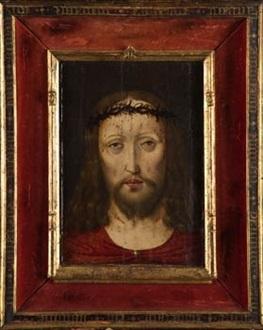 cristo coronado de espinas by flemish school 16
