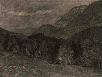 herbst im gebirge by ludwig bolgiano