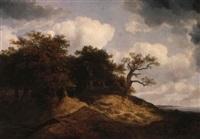 landscape by johann christian michael ezdorf
