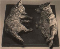 fox cubs by sally arnup