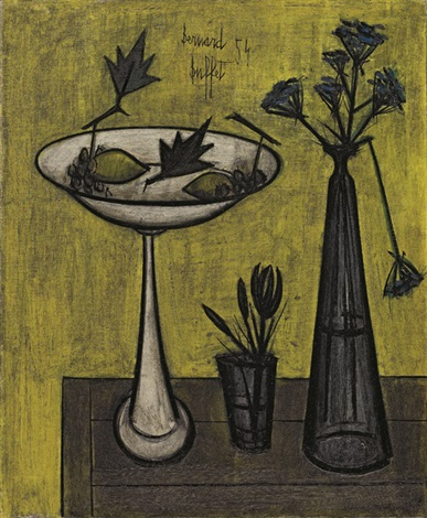靜物 still life by bernard buffet