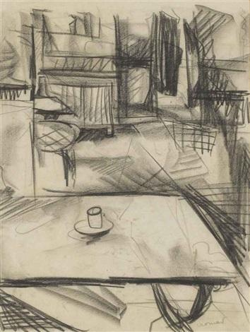 intérieur de café by farid aouad
