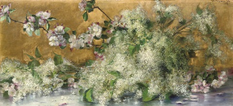 elderflower and other summer blooms by rela hönigsmann