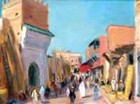 ruelle marocaine by charles ernest smets