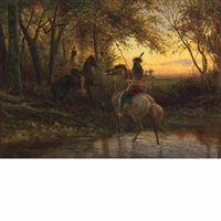 the hunting party by william de la montagne cary
