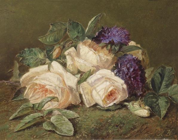 rosen und veilchen by adriana johanna haanen