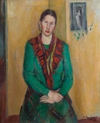 la dama del pullover verde by héctor basaldúa