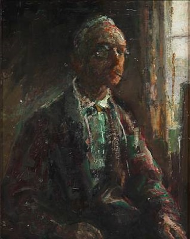 the artists self portrait by julius paulsen