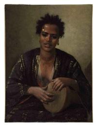 a nubian beauty by franz xavier kosler