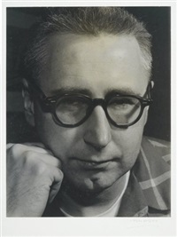 portrait of bertolt brecht by todd webb