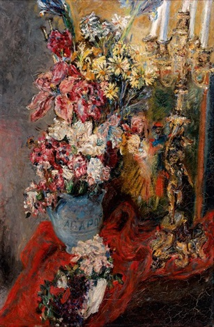 bouquet de fleurs au chandelier by alexis paul arapov