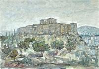 view of the acropolis by michalis kandylis