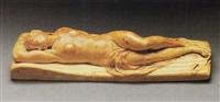 a reclining woman by leonhard kern